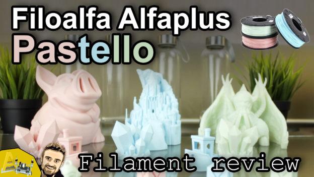 Filoalfa Alfaplus Pastello Alfabox · 3D Printer Filament Review