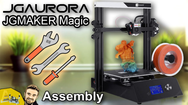 JGAURORA - JGMAKER Magic FDM 3D Printer - Assembly