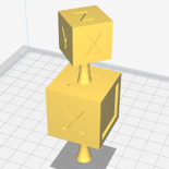 Support Flying test cubes